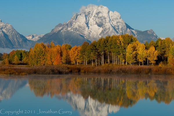 1067 - Mt. Moran, Grand Teton National Park, Wyoming.