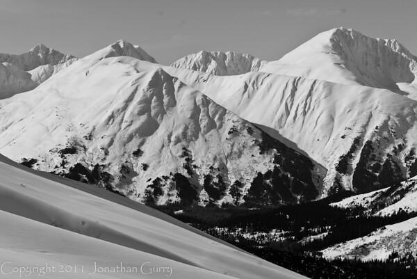 1308 - Chugach Mountains in Turnagain Pass, Alaska.