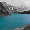 1264 - Saint Mary Lake in the Valley of the 10 Peaks.  Banff National Park, Alberta, Canada.