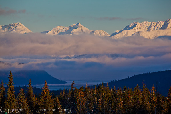 1355 - Chugach Mountains, Alaska.