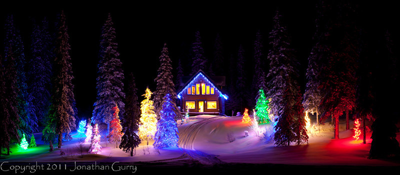1358 - Holiday Cabin, Alaska.