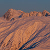 1297 - Moonrise in winter over the Alaska Range, Alaska.