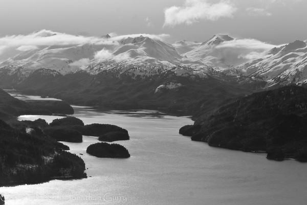 1305 - Chugach Mountains from the air.  Homer, Alaska.