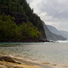 1240 - Monk Seal on Ke'e Beach, Napali Coast Kauai, Hawaii.
