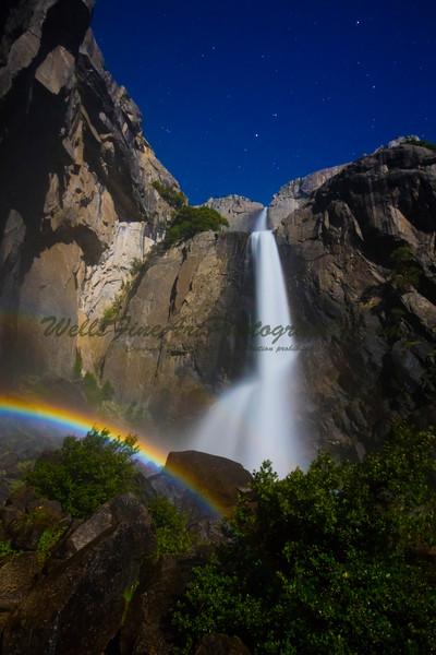 Double Moonbow, Lower Yosemite Falls