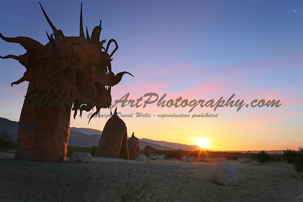 Dragon Sunrise, Anzo-Borrego California