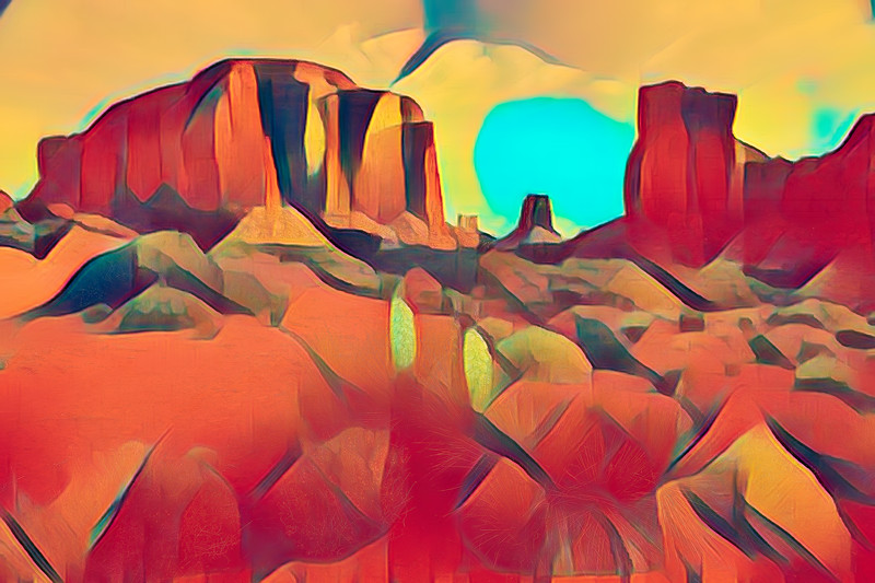 Valley Abstract