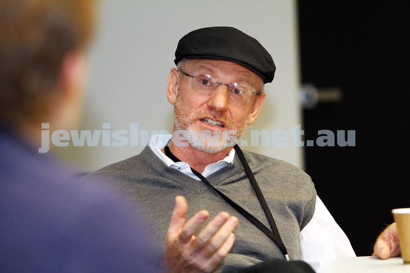 7-6-14. Limmud Oz 2014. Making Movies: Motives and Messages. Salvador Litvak. Photo: Peter Haskin