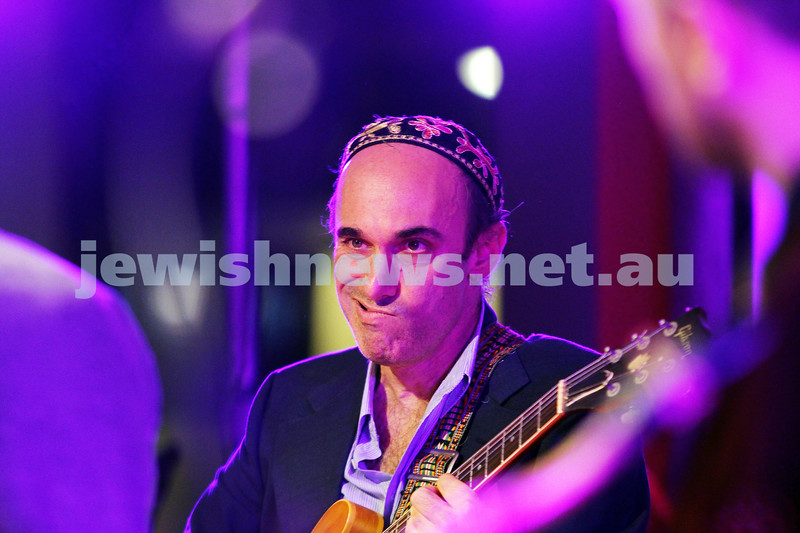 7-6-14. Limmud Oz 2014. Opening night gala.  Alter Jazz Ensemble. Adam Starr. Photo: Peter Haskin