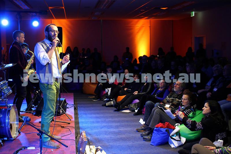 7-6-14. Limmud Oz 2014. Opening night gala. Noam Sendor. Photo: Peter Haskin