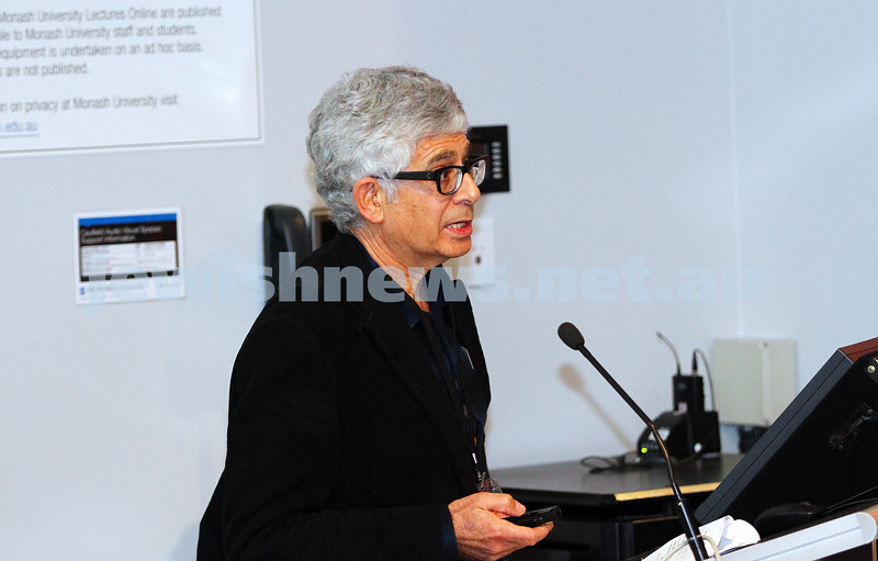 """8-6-14. Limmud Oz 2014. """"Unsettling questions about the settlements"""" . Robin Margo. Photo: Peter Haskin"""