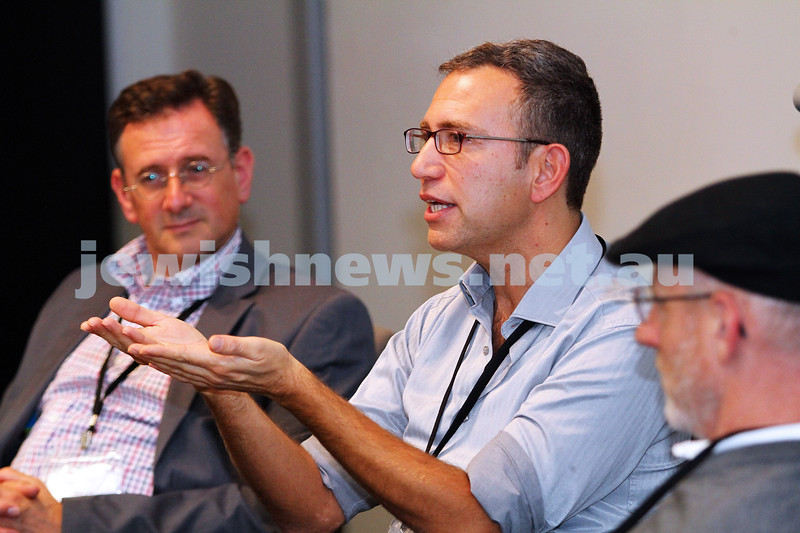 7-6-14. Limmud Oz 2014. Making Movies: Motives and Messages. Danny Ben-Moshe. Photo: Peter Haskin