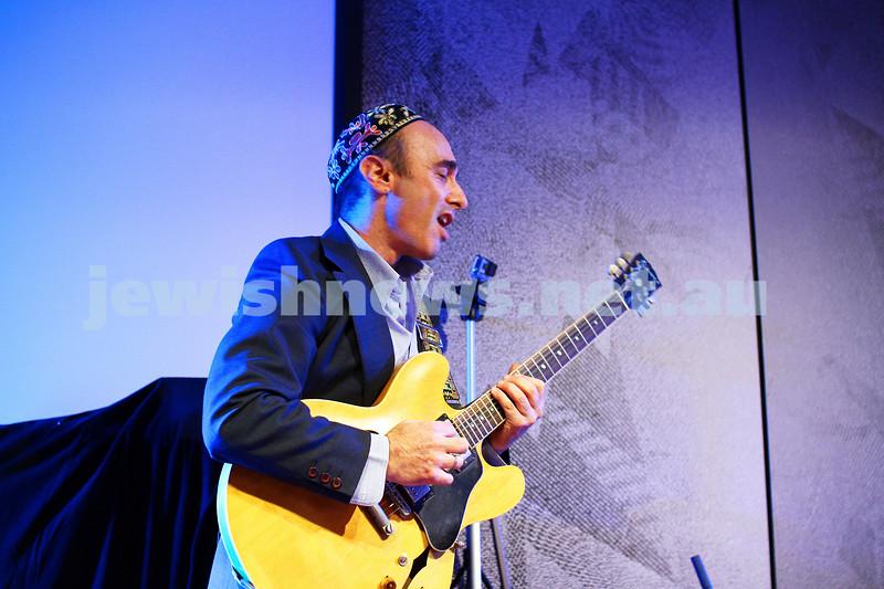 7-6-14. Limmud Oz 2014. Opening night gala.  Alter Jazz Ensemble. Adam Starr. Photo: Peter Haskin