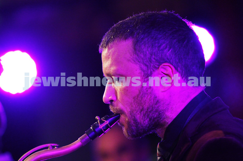 7-6-14. Limmud Oz 2014. Opening night gala.  Alter Jazz Ensemble. Photo: Peter Haskin
