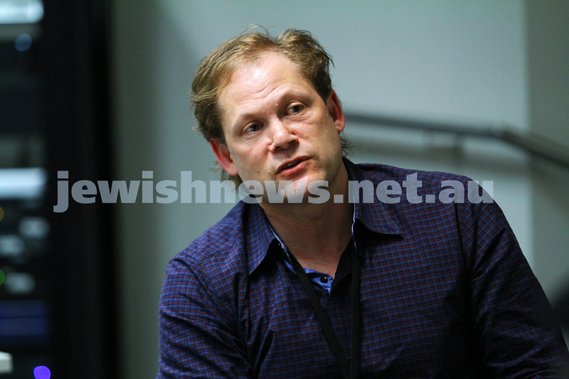 7-6-14. Limmud Oz 2014. Making Movies: Motives and Messages.  Shaun Miller. Photo: Peter Haskin