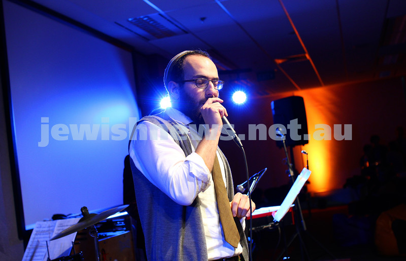 7-6-14. Limmud Oz 2014. Opening night gala.  Alter Jazz Ensemble. Noam Sendor. Photo: Peter Haskin