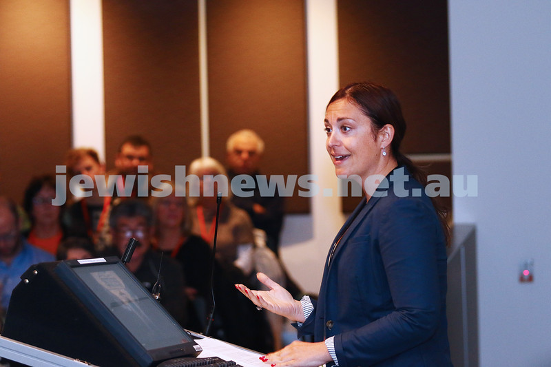 27-6-16. Limmud Oz. Melbourne 2016. Annika Hernroth-Rothstein. Jews in Iran. Photo: Peter Haskin