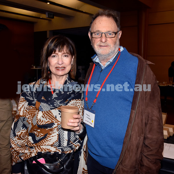 Limmud Oz 2017. Anita and Tom Moss. Pic Noel Kessel