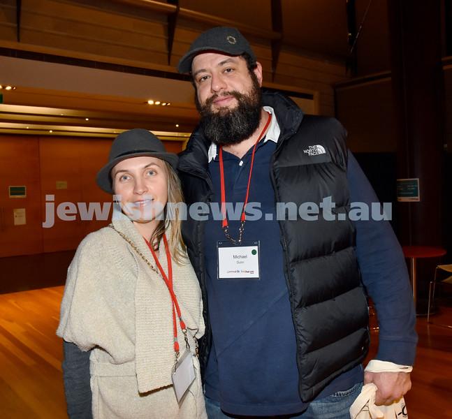 Limmud Oz 2017.Susan and Stephen Cohen. Pic Noel Kessel