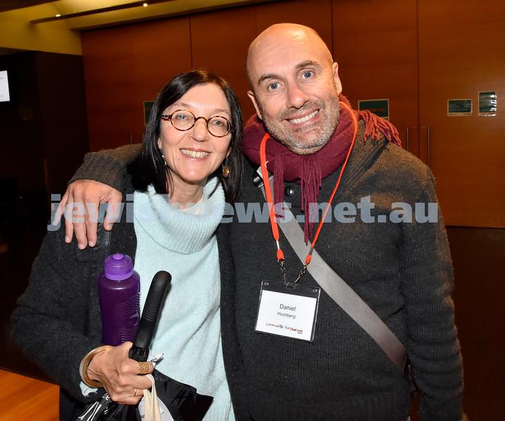 Limmud Oz 2017. Sandra and Daniel Hochberg. Pic Noel Kessel