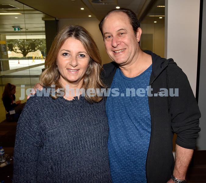 Limmud Oz 2017. Robyn and Harold Bernitz. Pic Noel Kessel