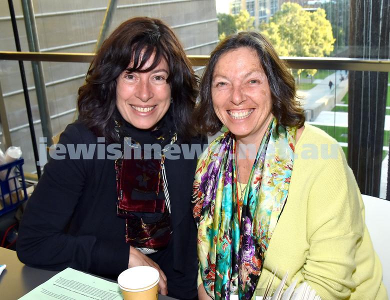 Limmud Oz 2017. Shimona Tzuckernick (left), Michelle Brenner. Pic Noel Kessel