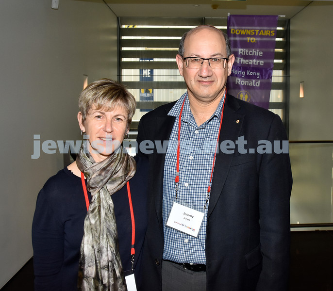 Limmud Oz 2017. Naomi and Jeremy Jones. Pic Noel Kessel