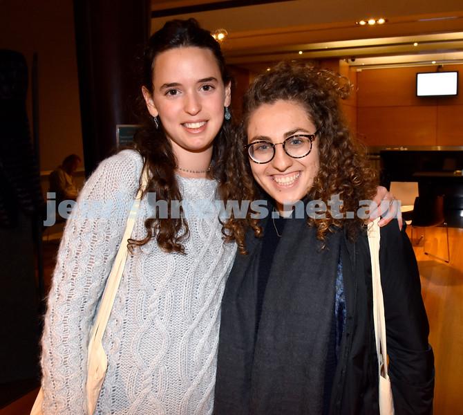 Limmud Oz 2017. Kareen Livingstone (left), Goldie Markovits. Pic Noel Kessel