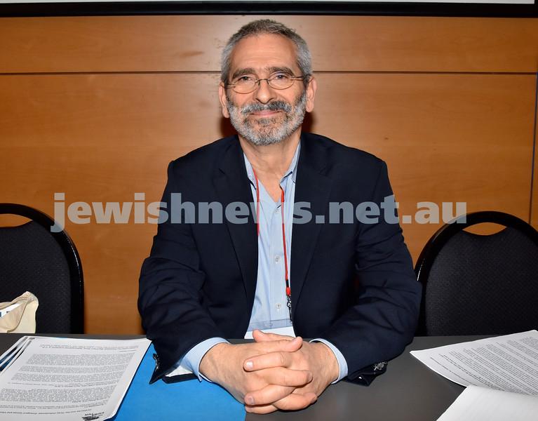 Limmud Oz 2017. Rabbi Steve Greenberg. Pic Noel Kessel