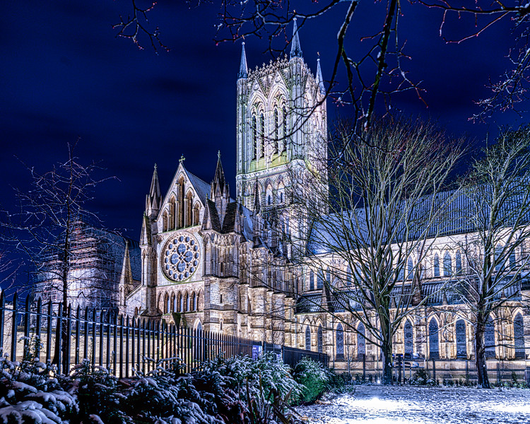 Snowy Cathedral