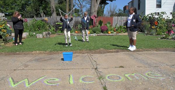 Lincoln Charter Students Explore City Garden