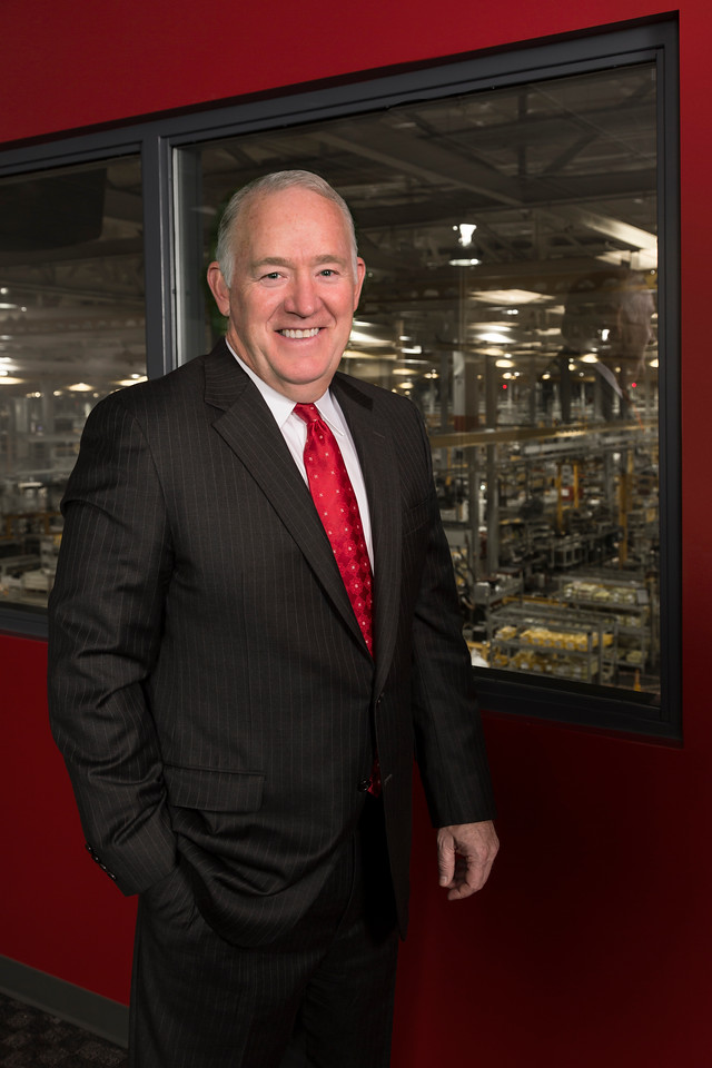 Chris Mapes, Chairman, President and Chief Executive Officer of The Lincoln Electric Company