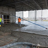 Construction of Lincoln Electric's new welding school.
