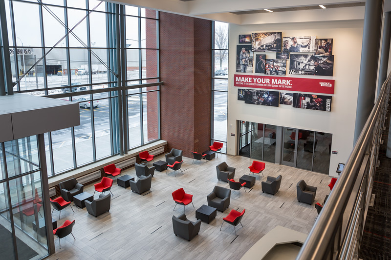 Welding Technology and Training Center lobby