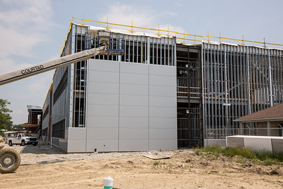Construction of Lincoln Electric's new Welding Technology Center in Euclid, Ohio.