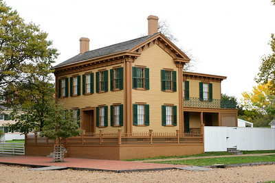 Abe Lincoln's Springfield Home