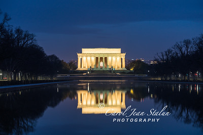 Lincoln Memorial in February