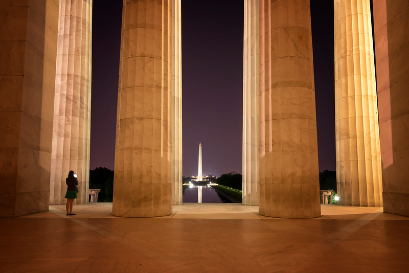 Midnight at the Monuments