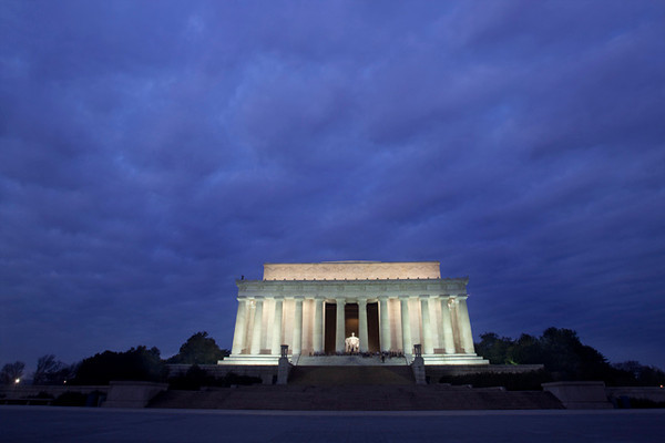Lincoln at Sunrise