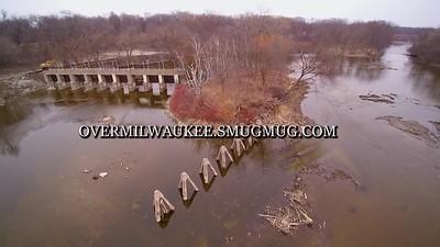 Estabrook Dam Flyover Apil 2018