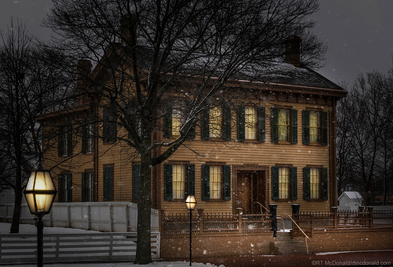 Abraham Lincoln's Home in Springfield, IL