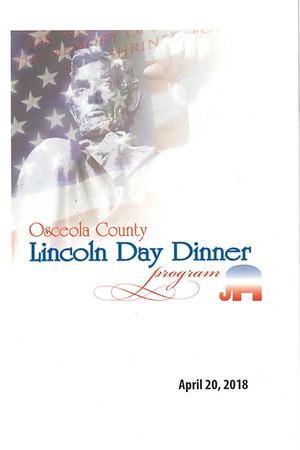 Osceola County 2018 Annual Lincoln Day Dinner