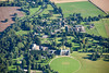 Belton House from the air.