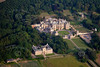 Aerial iamge of the University of Evansville at Harlaxton, Lincolnshire.