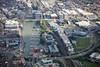 Aerial photo of Brayford Way..