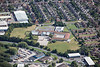 Aerial photo of Sir Francis Hill School.