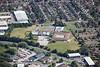 Aerial photo of Sir Francis Hill School.