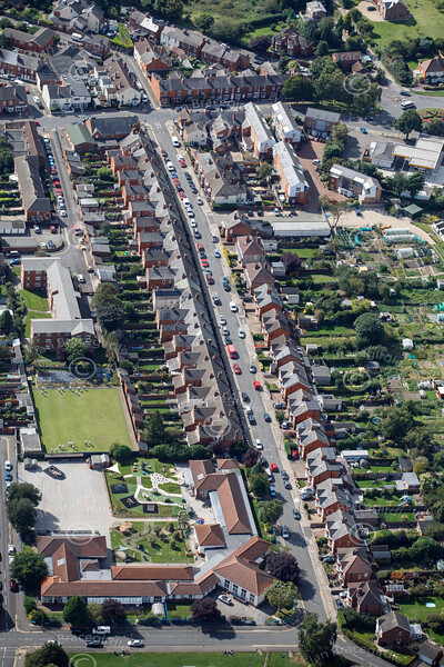 Aerial photo of Mount Street.