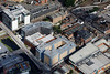 Aerial photo of Brayford Wharf East.
