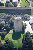 Aerial photo of Westgate Water Tower.